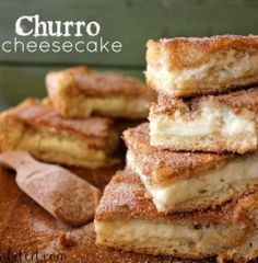 Churro Cheesecake - I don't think it's even possible to mess these delicious, Churro inspired Cheesecake Bars up.