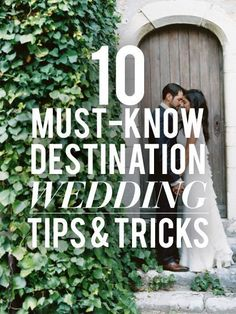 Tips for planning a destination wedding!