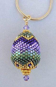 Beaded bead (seed beads)  #beadwork   #jewelry #crafts