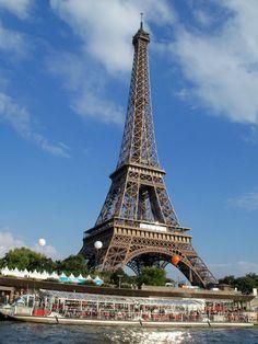 Eiffel Tower. Location: Paris, France.