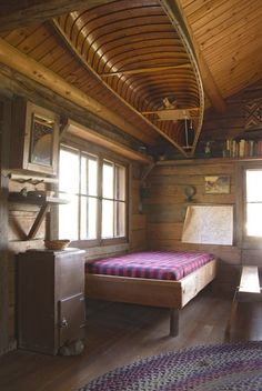 inspiration for our someday mini vacation cabin:)