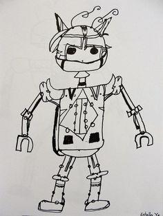 contour line robots