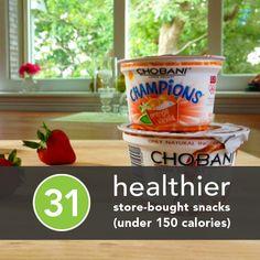 31 Healthier Store-Bought Snacks Under 150 Calories