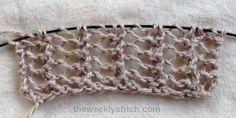 Half Herringbone Lace