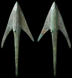Crusades / Medieval Europe, c. 1198 - 1375 AD. Fantastic and large bronze long-bow arrowhead found in Armenia. Still very sharp!