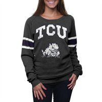 TCU Horned Frogs Ladies Slouchy Pullover Sweatshirt