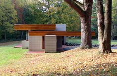 Albert and Edith Adelman Residence, a Frank Lloyd Wright-designed house in Fox Point, WI