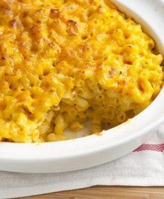 """""""I love all things pumpkin, so of course I had to try this. It is really good, you actually taste very little of the pumpkin (it just makes the mac and cheese creamier), so my non-pumpkin-loving boyfriend also really liked it."""""""