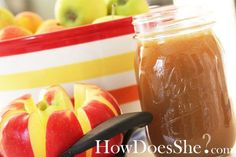 amazing caramel dip for apples!