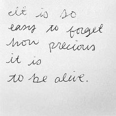 Precious |  #inspiration #words