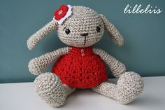 Ravelry: Miss Bunny pattern by Mari-Liis Lille.