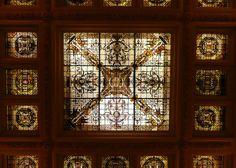 Nashville, TN The Hermitage Hotel ~ lobby ceiling by army.arch, via Flickr