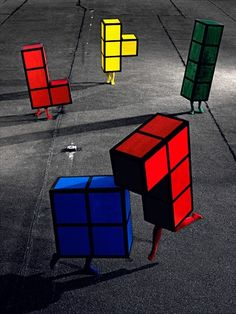 A Little Bit On The Video Games In Real Life Side #Tetris