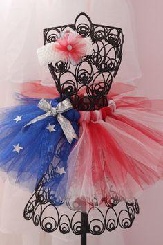 Fourth of July Tutu Little Girls Tutu Skirt by TwistinTwirlinTutus, $15.99 @Tiffany Amber Weikle