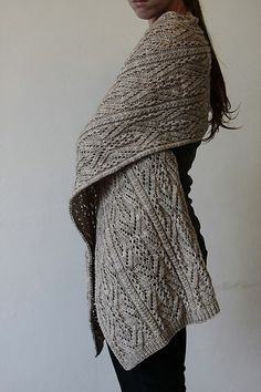 cozy shawl.