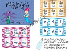 Mermaids Away for RtI - repinned by @PediaStaff – Please Visit ht.ly/63sNtfor all our pediatric therapy pins