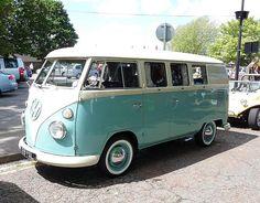 Aqua VW bus... love