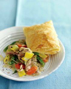 Chicken Potpie with Green Beans and Squash Recipe