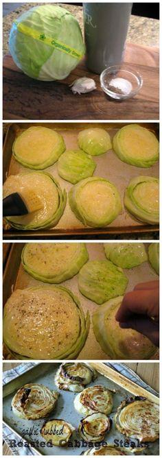 steak recipes, cabbag steak