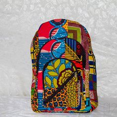 College, middleschool, yoga, this colorful backpack is a happy bag PatchPack 1 backpack by whatisyourACCENT on Etsy, $59.99 #backtoschool
