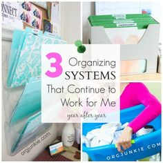 3 great organizing s