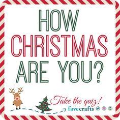 How Christmas are You? Take the quiz! | FaveCrafts.com