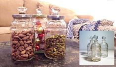 HOW TO make jars with decorative lids