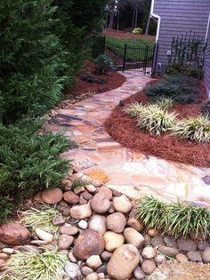 Stone Walkway #stone_walkway