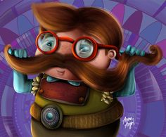 Characters by Anna Anjos, via Behance