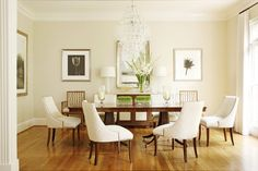 Benjamin Moore Cream Fleece--Room by Phoebe Howard.  Trim White Dove. I recently painted my living areas this color.