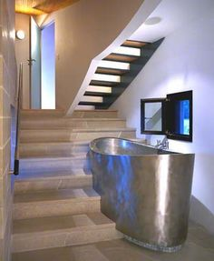 Hygiene Facilities (Double Seat Stainless Elliptical Tub by Diamond Spas)