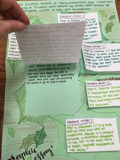 Analyzing Literature with Graphic Essays – Living in the Layers