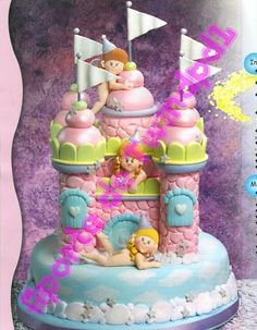 children cake, cake topper