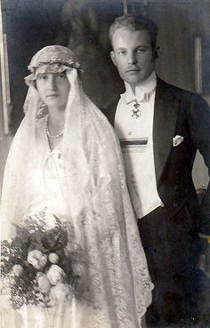 Prince Ludwig Philipp of Thurn & Taxi and his bride Princess Elisabeth of Luxemburg