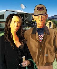 Modern American Gothic by ~TheRhinoMan on deviantART