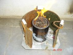 A tried and true stove for cooking- does not have great directions for making the stove yourself.