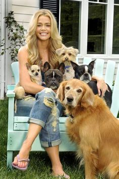 Denise Richards dogs