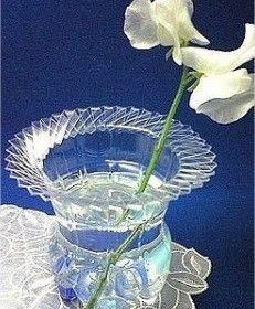 vaso de garrafa pet 01