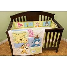Peek A Boo Pooh Crib Bedding
