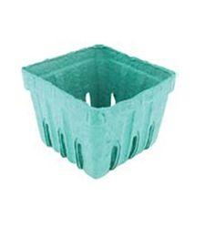 Berry Basket Green Pulp  Container - Quart  - 250pk
