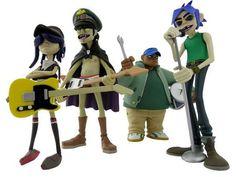 Gorillaz action figures