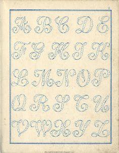 100's of vintage cross stitch charts