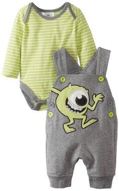 Something tells me I might have more fun dressing boys ;) Amazon.com: Disney Baby Baby-Boys Newborn 2 Piece Overall Set: Clothing