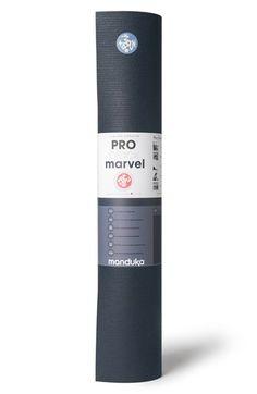 Manduka 'PRO® Black Marvel' Yoga Mat available at #Nordstrom