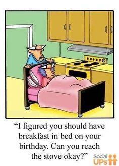 Breakfast in bed? #newlywedsurvival