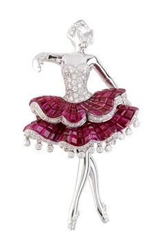 Van Cleef & Arpels Ballet Dancer Clip