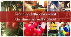teaching little ones about christmas--great books suggestions!