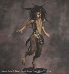 """Dancing Satyr"" © Wendy Froud"