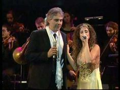 """ANDREA BOCELLI and Israeli singer LIEL KOLET - """"Ray of Hope""""...""""O my Lord, it's time to pray, when a new sun shines, let's make hay, So save my land from desert stay, call the oceans, salt to melt away. And bless streams with love's sway,   provide my foe and friend a bloodless day,   invite boys and girls for peace to pray,   then send a ray of hope for a new way."""""""