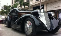 The Petersen Automotive Museum's Round Door Rolls at the 2013 Rodeo Drive Concours d'Elegance.
